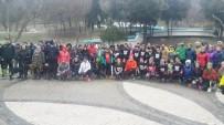 KAMU YARARı - Maçka Parkı İçin Kar Altında Koştular