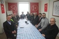 MEHMET ÖZTÜRK - MHP Rize Merkez İlçe Başkanı Kaya Basın Mensuplarıyla Bir Araya Geldi