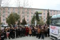 ALAATTIN AKTAŞ - Pamukkale Üniversitesi Öğrencilerinden Halep'e 3 Yardım TIR'ı