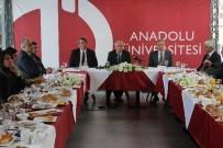 TERÖR SORUNU - Rektör Gündoğan Basın Mensuplarıyla Buluştu