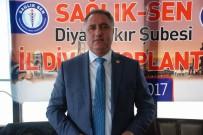 YIPRANMA PAYI - Sağlık-Sen Diyarbakır Şubesi İl Divan Toplantısı Gerçekleştirildi