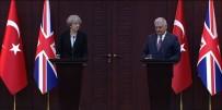 SİVİL HAVACILIK - Yıldırım-İngiltere Başbakanı May'den Ortak Basın Toplantısı