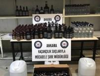 BANDROL - Ankara'da sahte içki operasyonu