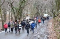 BELGRAD ORMANı - Belgrad Ormanı'nda 'Dekovil Hattı' Protestosu