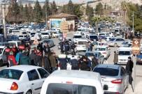 FUZULİ - Düğün Konvoyunda PKK'yı Simgeleyen Bez Parçası Taşıyanlara Müdahale