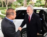 MOLDOVA - Moldova Büyükelçisi Bolboceanu'dan Başkan Sözlü'ye Ziyaret