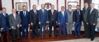 KONYA VALİSİ - MÜSİAD Konya Yönetiminden Vali Canbolat'a Ziyaret