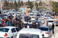 FUZULİ - Polis PKK Paçavrasını Görünce Müdahale Etti
