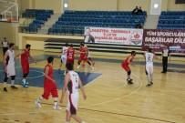 BILECIK MERKEZ - TB2L Temsilcisi Bilecik Belediyesi Basketbol Kulübü Son Sıraya Demir Attı