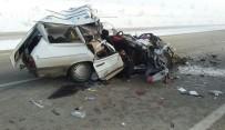 DÜZAĞAÇ - Afyonkarahisar'da Feci Kaza Açıklaması 2 Ölü