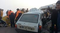 DÜZAĞAÇ - Afyonkarahisar'da Trafik Kazası Açıklaması 2 Ölü, 2 Yaralı