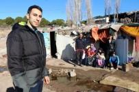 AYVALIK BELEDİYESİ - Ayvalık'ta Zor Durumda Olan Suriyeli İşçilere Yardım