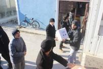 Bir TIR Dolusu Yardım Dualarla Halep'e Gönderildi
