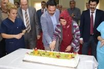 KARAKURT - Devlet Hastanesi'ndeki 1 Ocak Doğumlu 45 Personel İçin Doğum Günü Partisi