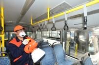 GRİP - EGO Otobüslerinde Dezenfekte Seferberliği