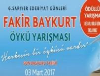 SARIYER BELEDİYESİ - 'Fakir Baykurt Öykü Yarışması'na başvurular başladı