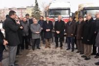 TÜM SANAYICI VE İŞ ADAMLARı DERNEĞI - Gönüllü Kuruluşlardan Halep'e 2 TIR Yardım