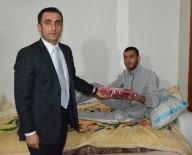 MURAT AYDıN - Kaymakam'dan El Bab'da Yaralanan Askerlere Ziyaret