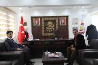 Kaymakam Erdoğan'dan Başkan Tutal'a İade-İ Ziyaret
