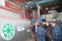 ŞEKER FABRİKASI - Kaymakam Üçer, Şeker Fabrikasında İncelemelerde Bulundu