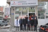 İLKER HAKTANKAÇMAZ - Kırıkkale Valisi Haktankaçmaz Kan Verdi