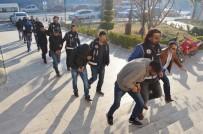 Milas'taki Uyuşturucu Operasyonunda 7 Kişi Adliyeye Sevk Edildi