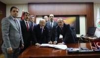 SEDDAR YAVUZ - Muş Valiliğinde SDS İmzalandı