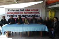 KAZIM ÖZALP - Polis İzinsiz Gösteriye Müsaade Etmedi