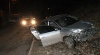 Polisten Kaçan Sürücü,Nefes Kesen Kovalamacayla Yakalandı
