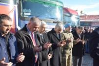 ERDOĞAN KANYıLMAZ - 'Rotamız Halep, Yükümüz İnsanlık' TIR'ları Yola Çıktı