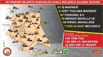 Seydişehir Belediyesi, Karla Mücadele Raporunu Açıkladı