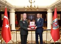 GENELKURMAY - Suudi Arabistan Savunma Bakanı Yardımcısı Orgeneral Akar'ı Ziyaret Etti