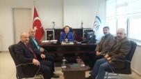 MUSTAFA AYDıN - Tes-İş'ten SGK Müdürü Yılmaz'a Ziyaret