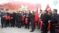 YAĞLI GÜREŞ - Türkiye'nin Başpehlivanları Şehitler Tepesi'ni Ziyaret Etti