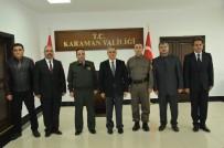 Vali Tapsız'dan Emniyet Ve Jandarma Personeline Başarı Belgesi