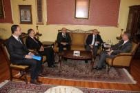 AKILLI TAHTA - YEGİTEK Genel Müdürü Tırnakçı'dan, Vali Gül'e Ziyaret