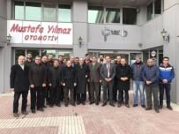 SALİM USLU - AK Parti'den ÇESOB'a Ziyaret