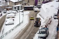 CANKURTARAN - Artvin'de Kar Yağışı Etkisini Arttırdı
