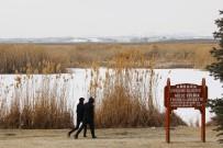 EYMİR GÖLÜ - Başkent'in ayazı Sibirya'yı aratmıyor