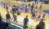 RECEP YAZıCıOĞLU - Basketbol Maçında Yumruklar Konuştu