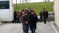 YENIKENT - Bylock Kullandığı Tespit Edilen 12 Polis Adliyeye Sevk Edildi