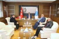 MUSTAFA DOĞAN - Gazetecilerden Rektör Prof. Dr. Mustafa Doğan Karacoşkun'a Ziyaret
