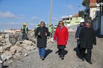 İSTİNAT DUVARI - İhale İptal Edildi, Çöken Duvarı Belediye Ekipleri Ördü