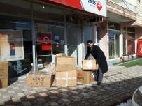 İHH'li Kadınların Ördüğü Kazaklar Suriyeli Çocukları Isıtacak
