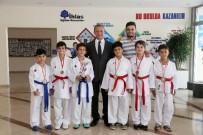 KıZıLKAYA - İhlas Eğitim Kurumları Karatecileri Madalyaları Topladı