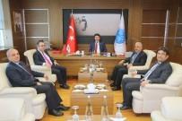 MUSTAFA DOĞAN - İl Müdürlerinden Rektör Karacoşkun'a Ziyaret