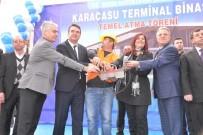 ÖZLEM ÇERÇIOĞLU - Karacasu'da Temel Atan Başkan Çerçioğlu'ndan İki Yeni Müjde
