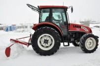 NEBIOĞLU - Kars'ta Kar Temizliğine Traktörlü Çözüm