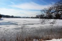 GÖLLER - Kayseri'de Göller Buz Tuttu