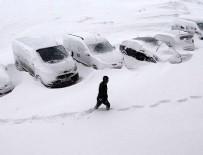 KAR ÖRTÜSÜ - Meteoroloji'den yoğun kar yağışı, kuvvetli rüzgar ve çığ uyarısı